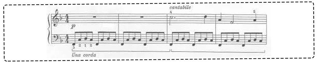 piyanoda sol pedal